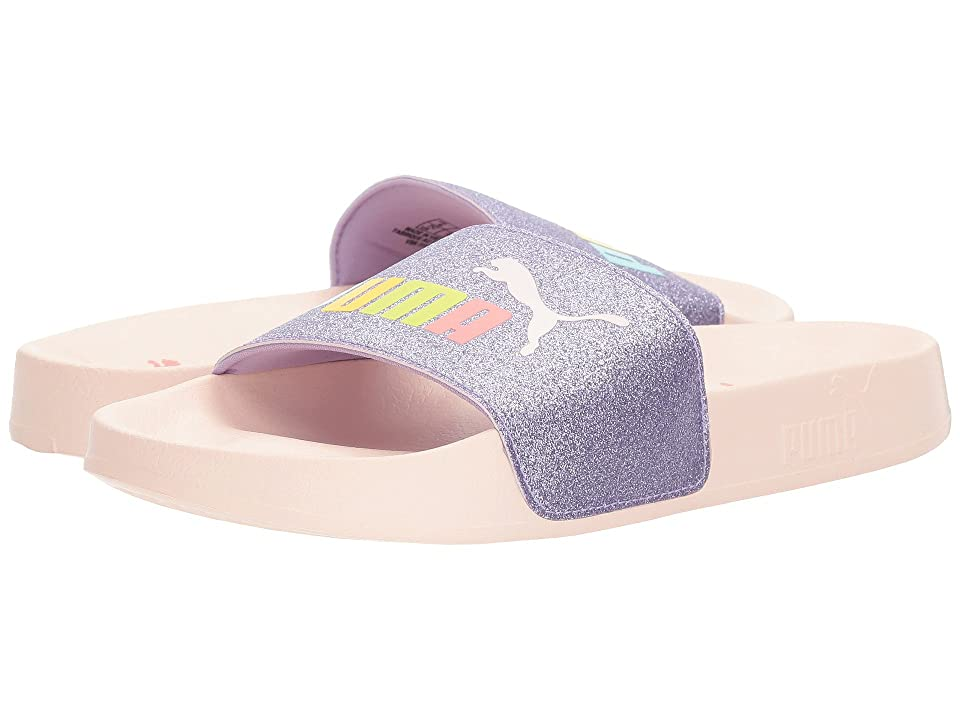 Puma Kids Leadcat Glitz (Big Kid) (Purple Rose/Pearl) Girls Shoes