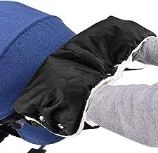 Mture Guantes de Silla de Paseo, Manoplas guantes de Forro polar impermeable, Invierno Protege Manos Guantes Caliente para cochecito carrito silla de bebé