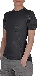 281Z Womens Hiking Moisture Wicking T-Shirt - Sport Climbing Outdoor - Polartec Delta - Sun Protection - Frogman Line