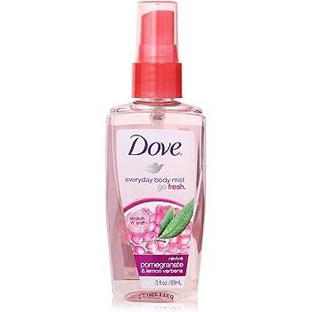 Amazon Com Dove Go Fresh Revive Body Mist 3 Ounce Pack Of 3 Dove Body Spray Beauty