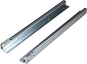 ALPENSTAHL Laderails, gedeeltelijk uittrekbaar, 1000 mm, voor zware lasten, voor montage op liggende montage, rails met dr...