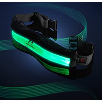 5//10X Reflective Safety Arm Band Belt Strap For Outdoor Night Running Biking  d