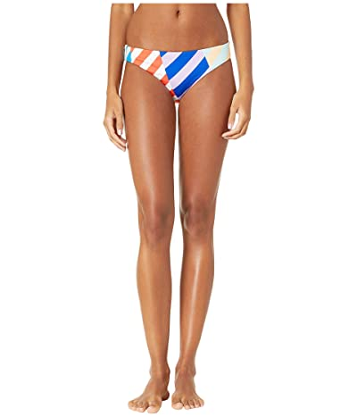 THE BIKINI LAB Biased Stripe Hipster Bottoms (Multi) Women