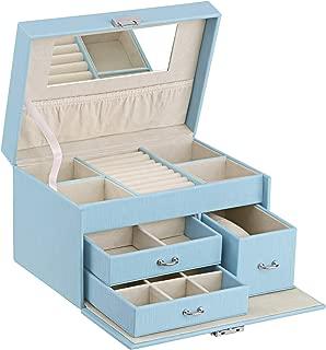 Best light blue jewelry box Reviews