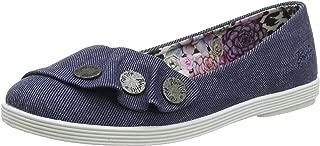 Tucia, Zapatos de tacón con Punta Cerrada para Mujer, Azul (Blue Hipster Smoked Twill 403), 36 EU