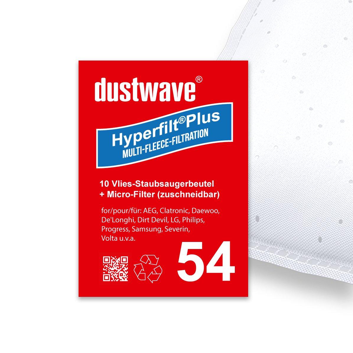 10 bolsas para aspiradoras Solac a804 N2 Aspiradora Brise Carpet 1.800 W/dustwave® Marca Bolsa para el polvo/Fabricado en Alemania + Incluye Micro filtro: Amazon.es: Hogar