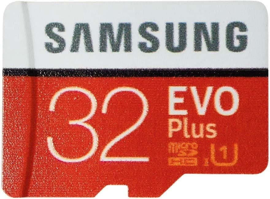 Samsung EVO+ Plus 32GB Micro SD Card Works with Samsung Galaxy Note 20 Ultra Phone, Note 10 Lite (MB-MC32) Bundle with (1) Everything But Stromboli SDHC & MicroSD Memory Card Reader