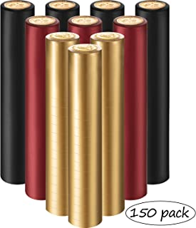 PVC Heat Shrink Capsules Wine Shrink Wrap Wine Bottle Capsules for Wine Cellars and Home Use, 3 Colors (150)