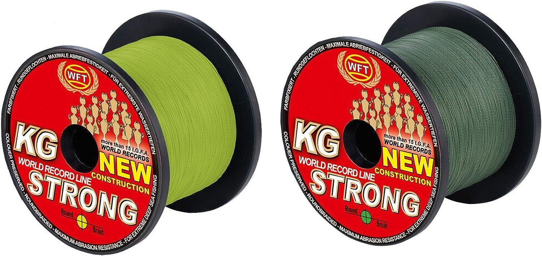 WFT KG Strong Strong Strong 600m 0,08mm 10kg, Geflochtene Schnur, Meeresschnur, Angelschnur, Geflechtschnur B016WEZEFI  Mittlere Kosten 55640b