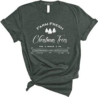 Farm Fresh Christmas Trees Christmas T-Shirt - Unisex Tee