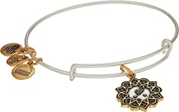 Two-Tone Zodiac Bangle