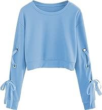 baby blue sweatshirt womens
