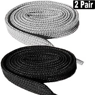 2 Pair Super Quality Flat Shoe laces 5/16