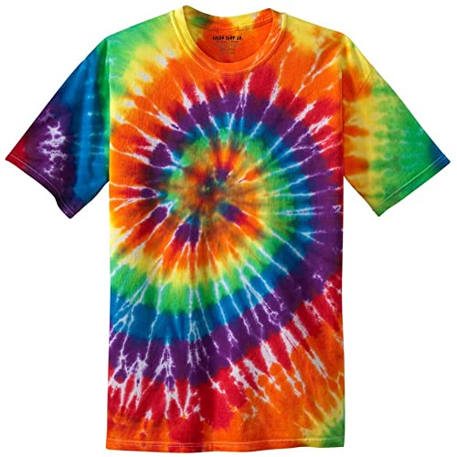2d371ab9 Colorful Tie-Dye T-Shirts in 17 Colors. Sizes