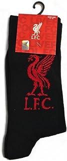 Liverpool FC Official Soccer Crest Socks (1 Pair)