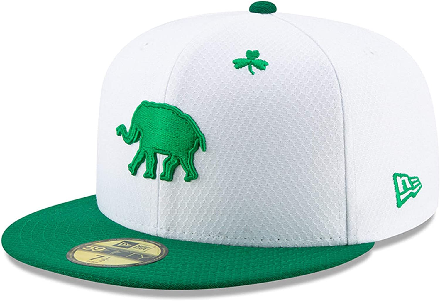 New Era Oakland Athletics 2019 St. Patrick's Day On-Field 59FIFTY Fitted Hat (6 7 8)