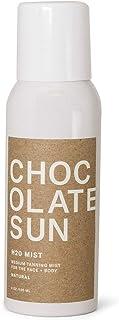 Chocolate Sun - Organic H20 Glow Medium Tanning Mist Face & Body (Medium to Dark, 4 oz) | Clean, Non-Toxic Sunless Tanning