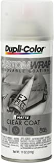 Dupli-Color CWRC900 Matte Clear Coat Custom Wrap Camouflage 11 oz. Aerosol (2 PACK)