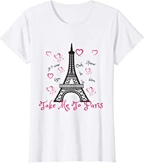 Paris Eiffel Tower T-shirt-