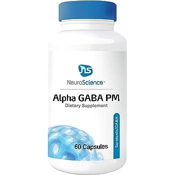 Amazon.com: NeuroScience Alpha GABA PM - Sleep Aid with ...