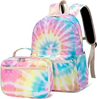 CAMTOP Backpack for Kids Girls School Backpack with Lunch Box Preschool Kindergarten BookBag Set