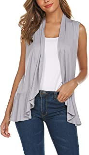 Best lightweight sleeveless cardigan Reviews