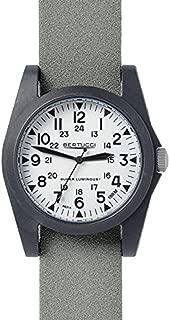 Bertucci A-3P Sportsman Vintage Field White/Black/Green Tridura Analog Quartz Men's Watch 13359