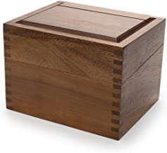 antique dovetail wood box
