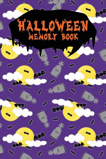 Halloween Memory Book: An Activity Book for Kids to Record Their Halloween Day | Coloring | Drawing | Journaling | Vampire Papers-06