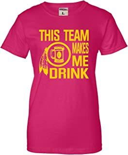 Best pink redskins shirt Reviews