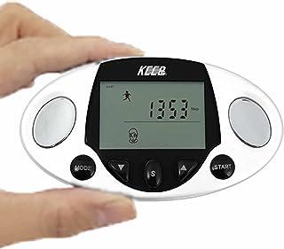 KEEPs ポケット健康カウンター (体脂肪計、歩数計、BMI体脂肪率、体組成計) MEHR-34