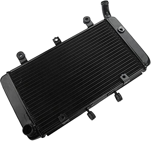 high quality Mallofusa Motorcycle Aluminum 2021 Radiator Cooler Cooling Compatible for Honda CB1300 1998 1999 2000 2001 2002 discount Black sale