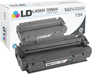 LD Compatible Toner Cartridge Replacement for HP 15X C7115X High Yield (Black)