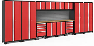 NewAge Products Bold 3.0 Red 14 Piece Set, Garage Cabinets, 56479