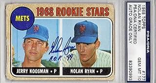 Best nolan ryan rookie card signed Reviews