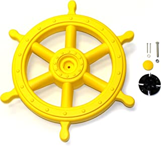 Eastern Jungle Gym Jumbo Captain's Ship Wheel Pirate Wheel Deluxe Swing Set Accessory for Wooden Playset