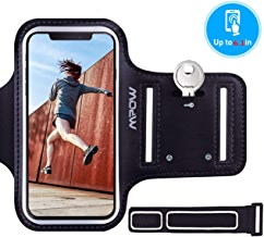 Mpow Running Armband for iPhone XS X 8 7 6s 6, Sweatproof Running Phone Armband Sports Armband with Key Holder and Extension Strap, Suitable for iPhone X 8/7/ 6S/ 6 Up To 6.1 Inches