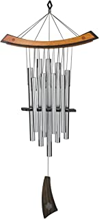 Woodstock Chimes – The ORIGINAL Guaranteed Musically Tuned Chime, Healing – Silver