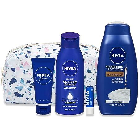 NIVEA Skin Care Set for Her 4 Piece Gift Set, 35.67 Fl Oz