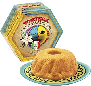 TORTUGA Caribbean Mexican Vanilla Rum Cake - 16 oz Rum Cake - The Perfect Premium Gourmet Gift for Gift Baskets, Parties, Holidays, and Birthdays