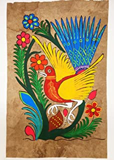 Mexican Amate Bark Painting