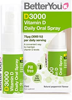Better You DLux 3000 Vitamin D Oral Spray, 15 ml