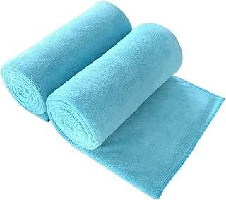 JML Bath Towel, Microfiber Towel Sets 2 Pack (30
