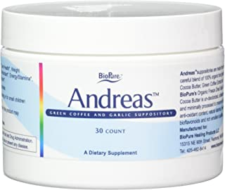BioPure Andreas Suppositories (30 count)