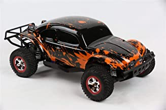 SummitLink Custom Body Muddy Orange Over Black Compatible for Traxxas 1/10 Slash 4x4 VXL 2WD Slayer RC Car or Truck (Truck not Included) SSB-BR-03