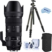 $1259 » Sigma 70-200mm F2.8 DG OS HSM Sports Telephoto Zoom Lens for Nikon F Mount, DSLR Cameras (590955), Bundle with Vanguard VEO 2 264CB Carbon Fiber Travel Tripod with BH-50 Ball Head, Cleaning Kit