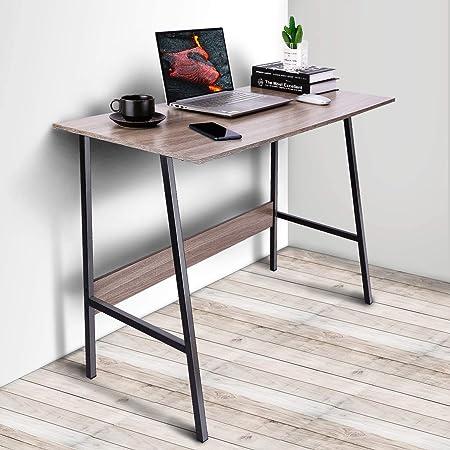 Viewee 100x48x74cm Mesa Escritorio para Mesa Ordenador para Dormitorio o Casa de Alquiler Espacio Moderado …