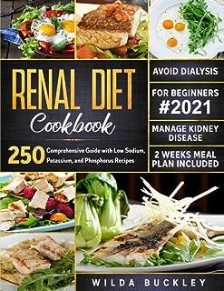 Renal Diet Cookbook #2021: Comprehensive Guide With 250 Low Sodium, Potassium, And Phosphorus Recipes. Manage Kidney Disea...