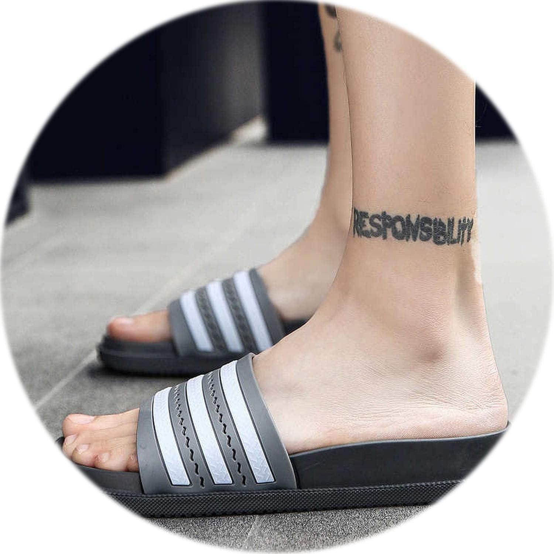 Summer Bathroom Slippers Women Men Unisex Non-Slip Indoor Home Slipper Outdoor Flip Flops Superstar Slides