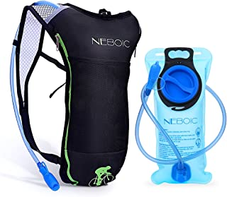 Neboic Hydration Backpack-Hydration Pack with Water Bladder 2L (70 oz) in Lightweight Backpack Style Suit for Women, Men, Kids Hydration Backpack Cycling, Hiking, Biking, Kayaking